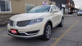 Used 2016 Lincoln MKX Reserve-OFF LEASE-NAV-SUNROOF-REMOTE START-REAR CA for sale in Tilbury, ON