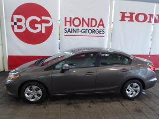 Used 2012 Honda Civic LX for sale in St-Georges, QC