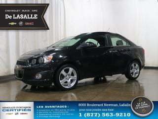 Used 2015 Chevrolet Sonic LT for sale in Lasalle, QC