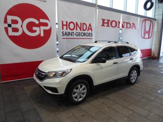 Used 2016 Honda CR-V LX for sale in St-Georges, QC