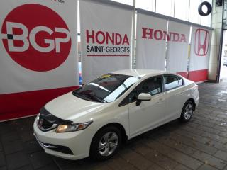 Used 2015 Honda Civic LX for sale in St-Georges, QC