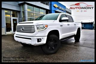 Used 2015 Toyota Tundra PLATINUM + V8 5.7L + TOIT + CUIR + NAV for sale in Mont-Laurier, QC