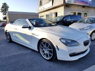 Used 2012 BMW 650i V8 - DÉCAPOTABLE - FULL for sale in Longueuil, QC
