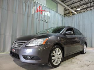 Used 2014 Nissan Sentra SL **Cuir**Gps**Toit Ouvrant** for sale in Rouyn-Noranda, QC