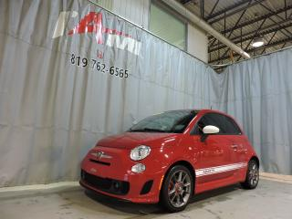 Used 2013 Fiat 500 Abarth **Bas Kilométrage** for sale in Rouyn-Noranda, QC