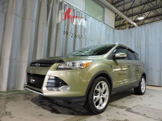 Used 2013 Ford Escape Titanium **Awd**Gps*Toit Panoramique**Cuir** for sale in Rouyn-Noranda, QC
