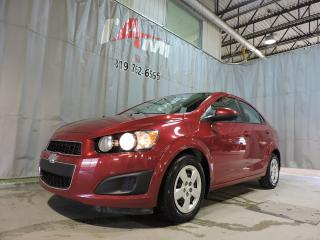 Used 2012 Chevrolet Sonic LS **Automatique**Air Climatisé** for sale in Rouyn-Noranda, QC