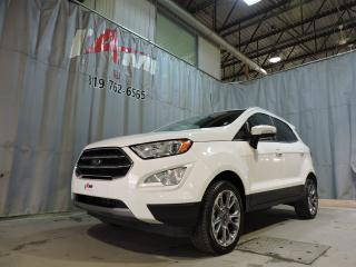 Used 2019 Ford EcoSport Titanium 4WD **Toit Ouvrant**Cuir** for sale in Rouyn-Noranda, QC