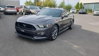Used 2017 Ford Mustang GT modèle à toit fuyant 2 portes for sale in Drummondville, QC