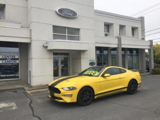 Used 2018 Ford Mustang EcoBoost à toit fuyant/2,3 Ecoboost for sale in Drummondville, QC
