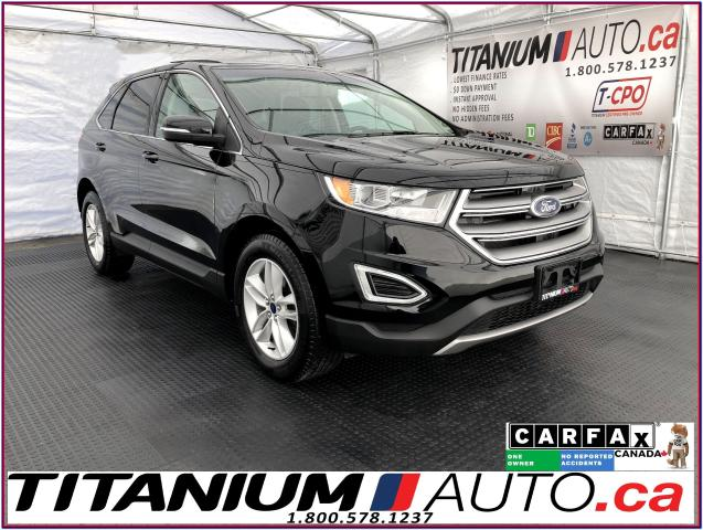 2017 Ford Edge SEL+V6+GPS+Blind Spot+Pano Roof+Leather+Camera+XM+