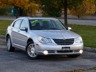 Used 2008 Chrysler Sebring LEATHER,TOURING,SUNROOF,FULLY LOADED OPTIONS, for sale in Mississauga, ON