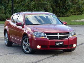 Used 2008 Dodge Avenger R/T,LEATHER,AUTOSTART,SUNROOF,LOADED,DEALER SERVIC for sale in Mississauga, ON