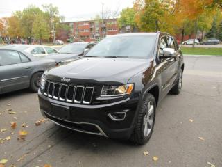 Used 2016 Jeep Grand Cherokee Limited ** Navigation Full ** for sale in Montréal, QC