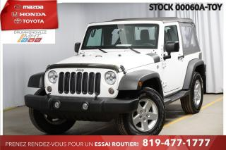 Used 2018 Jeep Wrangler MANUELLE* RÉGULATEUR DE VITESSE* BAS KILO* for sale in Drummondville, QC