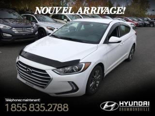 Used 2017 Hyundai Elantra GL + GARANTIE + MAGS + CAMERA + WOW !! for sale in Drummondville, QC