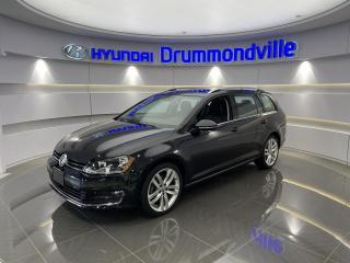 Used 2016 Volkswagen Golf Sportwagen HIGHLINE + GARANTIE + NAVI + CUIR + TOIT for sale in Drummondville, QC