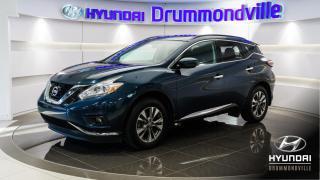 Used 2017 Nissan Murano SV AWD + GARANTIE + TOIT + CAMERA + NAV for sale in Drummondville, QC