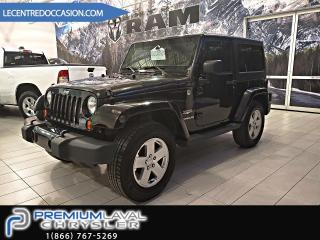 Used 2011 Jeep Wrangler Wrangler Sahara 2 Toit/Bluetooth/ siège for sale in Laval, QC