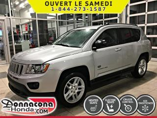Used 2011 Jeep Compass 4X4 LIMITED *CUIR, TOIT, BLUETOOTH* for sale in Donnacona, QC