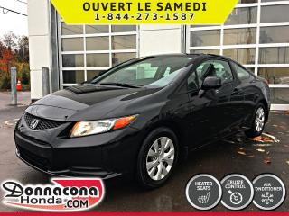 Used 2012 Honda Civic LX *GARANTIE 10 ANS/ 200 000 KM* for sale in Donnacona, QC