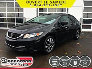 Used 2015 Honda Civic EX *GARANTIE 10 ANS/ 200 000 KM* for sale in Donnacona, QC