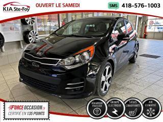 Used 2016 Kia Rio SX *CRUISE *CUIR *CAMERA *A/C for sale in Québec, QC