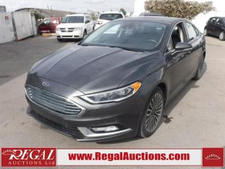 Used 2017 Ford Fusion Titanium 4D Sedan AWD 2.0L for sale in Calgary, AB