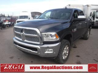 Used 2018 RAM 3500 Laramie Crew CAB SWB 4WD 6.7L for sale in Calgary, AB