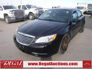 Used 2014 Chrysler 200 LX 4D SEDAN FWD 3.6L for sale in Calgary, AB