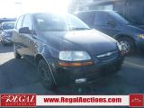 Photo of Black 2004 Chevrolet Aveo