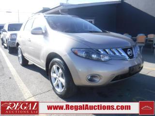 Used 2009 Nissan Murano SL 4D Utility 4WD for sale in Calgary, AB
