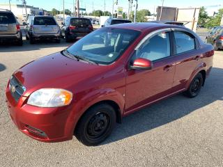 Used 2009 Chevrolet Aveo LS/1.6L/NO ACCIDENT/SAFETY INCLUDED for sale in Cambridge, ON