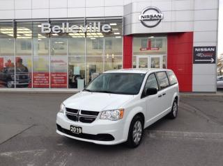 Used 2019 Dodge Grand Caravan 1 OWNER LOCAL TRADE. THIS IS NOT A RENTAL CAR for sale in Belleville, ON