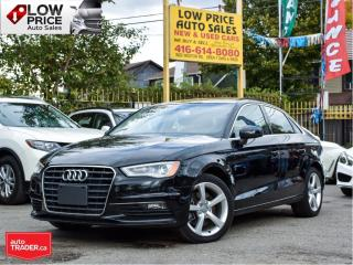 Used 2015 Audi A3 Leather*PanoramicRoof*HtdSeats*XenonPkg*AudiWarr* for sale in Toronto, ON