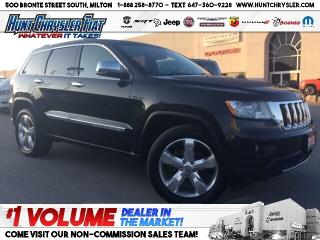 Used 2013 Jeep Grand Cherokee OVERLAND | NAV | BLINDSPOT | ADAPT & MORE!!! for sale in Milton, ON