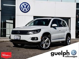 Used 2016 Volkswagen Tiguan 4Motion for sale in Guelph, ON