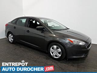Used 2016 Ford Focus S Automatique - AIR CLIMATISÉ - Caméra de Recul for sale in Laval, QC