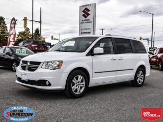 Used 2014 Dodge Grand Caravan Crew ~Stow 'N Go ~Heated Seats + Wheel ~Camera for sale in Barrie, ON