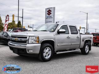 Used 2008 Chevrolet Silverado 1500 LT Crew Cab 4x4 ~5.3 V8 ~Trailer Tow ~Bucket Seats for sale in Barrie, ON