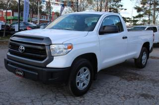Used 2015 Toyota Tundra Reg Cab 5.7L SR 8ft Long box Back camera Bluetooth for sale in Mississauga, ON