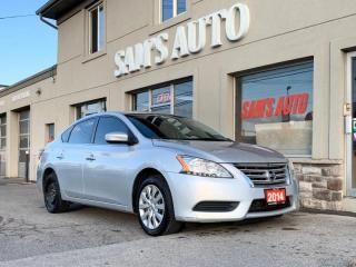 Used 2014 Nissan Sentra 4DR SDN for sale in Hamilton, ON