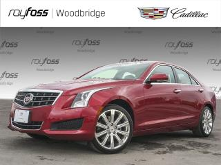 Used 2014 Cadillac ATS AWD, NAV, BOSE, ONLY 21K for sale in Woodbridge, ON