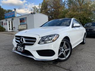 Used 2016 Mercedes-Benz C-Class 4dr Sdn C300 4MATIC| AMG SPORT PKG| DYNAMIC PKG| BLINDSPOT| for sale in Brampton, ON