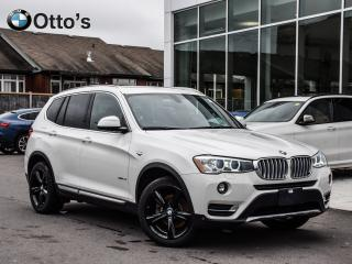 Used 2017 BMW X3 xDrive28i NAVI LOW KM for sale in Ottawa, ON
