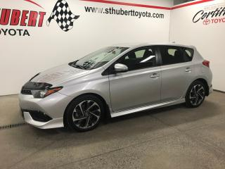 Used 2017 Toyota Corolla iM 4dr HB CVT, CAMÉRA DE RECUL for sale in St-Hubert, QC