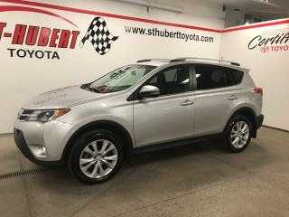 Used 2015 Toyota RAV4 AWD 4dr Limited for sale in St-Hubert, QC