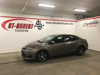 Used 2017 Toyota Corolla 4dr Sdn CVT LE, TOIT OUVRANT for sale in St-Hubert, QC
