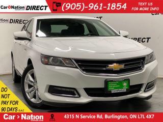Used 2018 Chevrolet Impala LT w-1LT| LEATHER-TRIMMED SEATS| BACK UP CAM| for sale in Burlington, ON