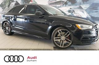 Used 2016 Audi S3 2.0T Technik + Nav | Black Optics | Loaded! for sale in Whitby, ON